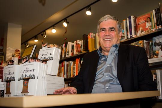 Lancement du livre Le Candidat de Louis-Michel Gratton